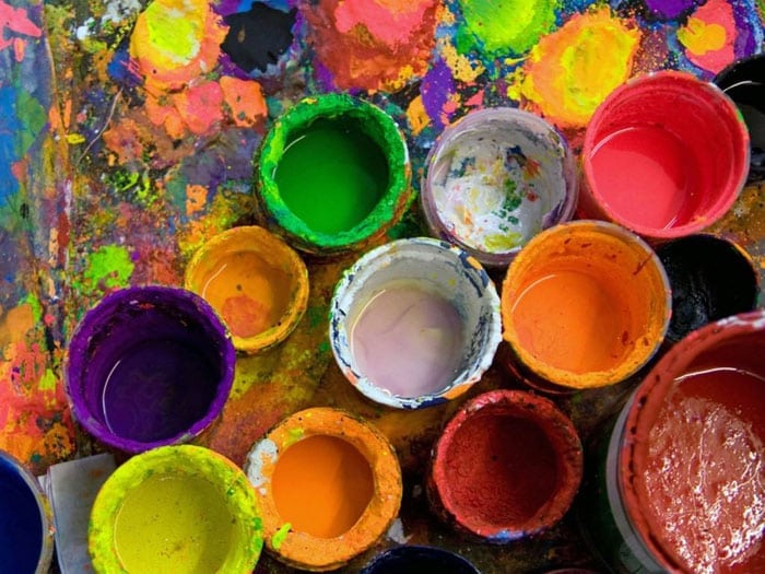 Comment peindre avec de la peinture acrylique - trucs et astuces
