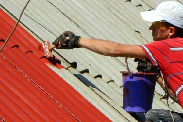 Peinture de toit en ardoise avec émail PF-115