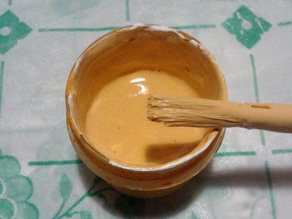 Peinture marron