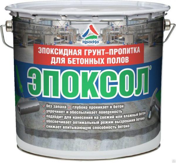 Primaire époxy pour sols en béton