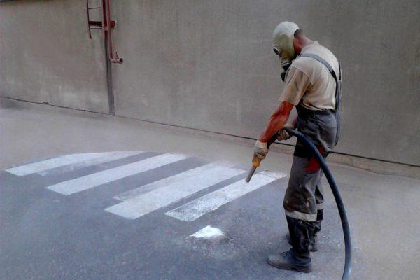 Préparation des sols en béton pour imprégnation
