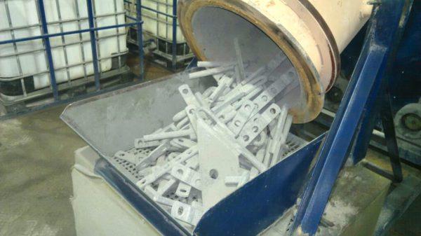 La technologie de revêtement par diffusion thermique de pièces métalliques avec du zinc
