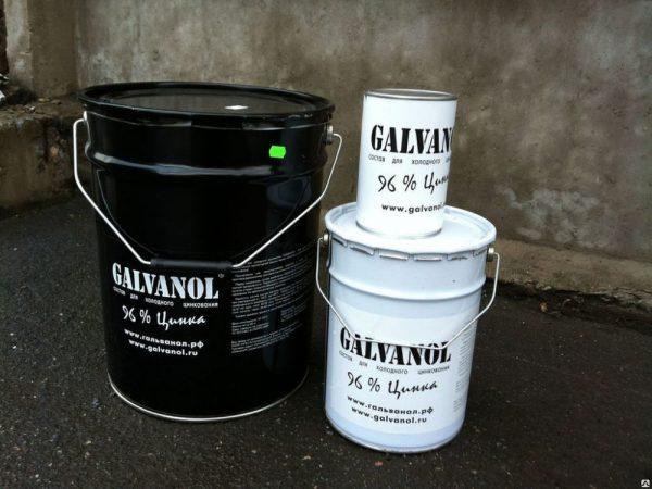 Composition pour la galvanisation à froid Galvanol
