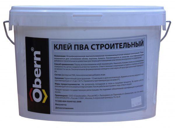 En plus de la dispersion PVA, l'adhésif contient des additifs modificateurs