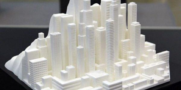 Modèle 3D de plastique polymorphe