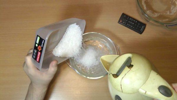 Fusion thermoplastique à l'eau chaude
