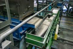 Ligne de production de billes de microglasse