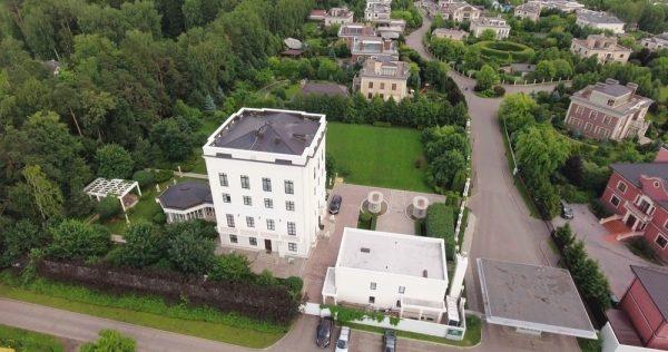 La Maison Blanche sur Rublevka