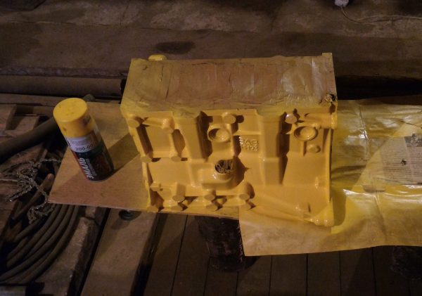 Peinture du bloc moteur VAZ 21120