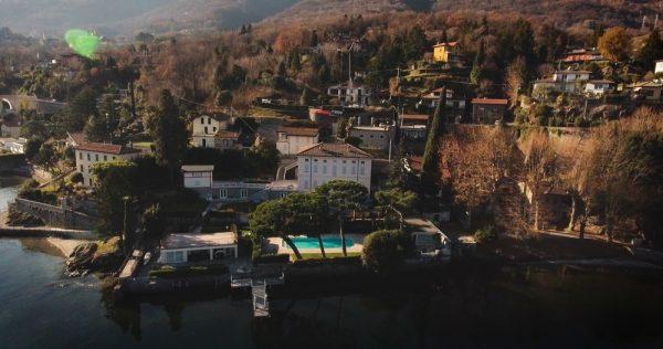 Villa Solovyova sur le lac de Côme